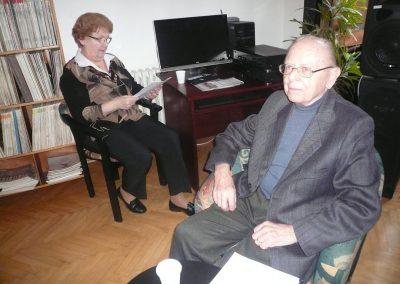 Jiří Novotný s manželkou, průvodci bohatou historií Pražského jara