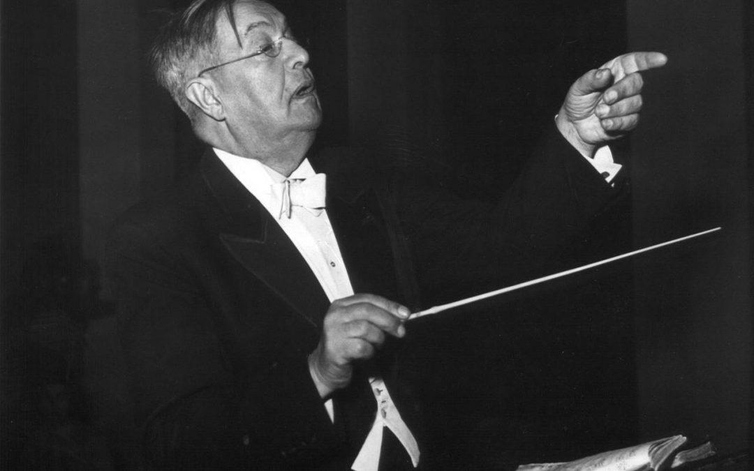 Český hudební dirigent Václav Talich