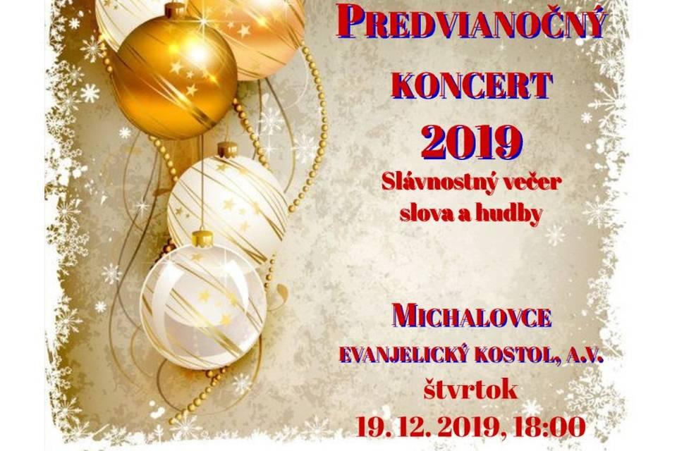 Předvánoční koncert v Michalovcích