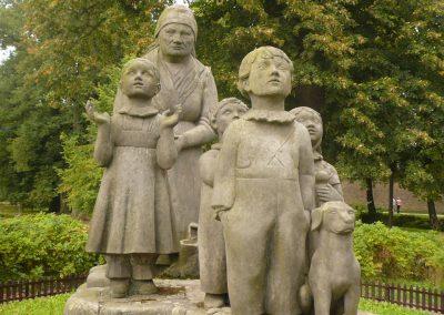 Babička s dětmi