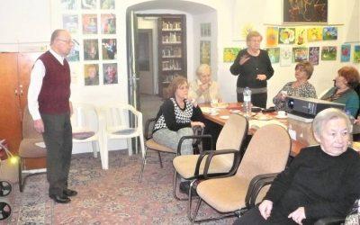 Odpoledne v klubu s hudebním skladatelem Rudolfem Frimlem