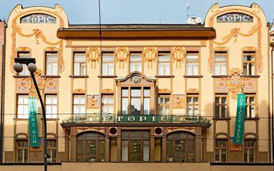 Topičův salon v Praze – secesní klenot