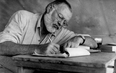 Ernest Hemingway: Pronásledování jako štěstí