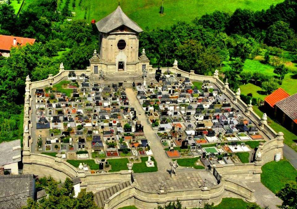 Unikátní barokní hřbitov Střílky