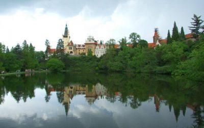 Národní kulturní památka v údolí potoka Botiče – Průhonický park